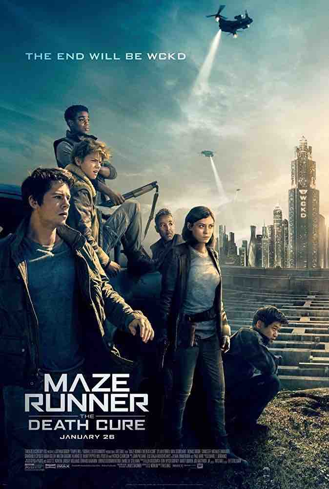 Death Cure Mazerunner Blu-Ray Featurettes - mixing